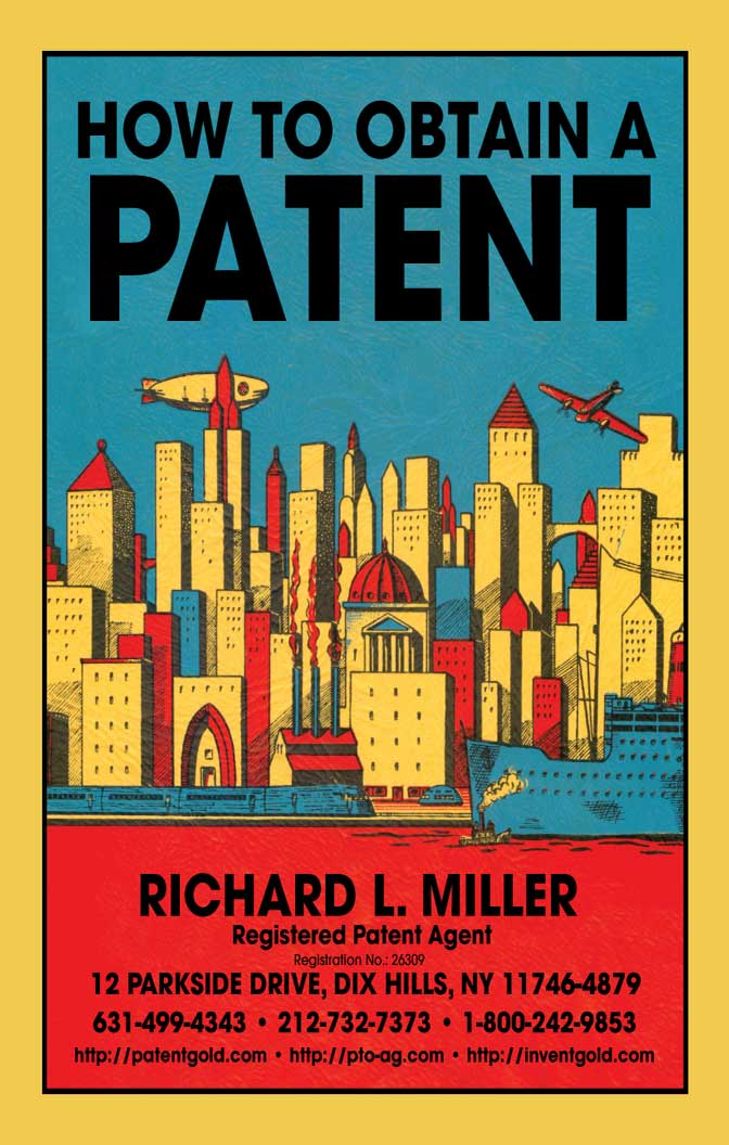 "Get your                      free copy of ""How to Obtain a Patent"" by                      filling out this form"